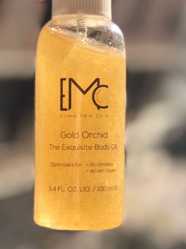 Cold Orchid Body Oil